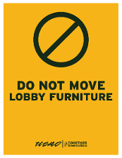 Do Not Move Lobby Furniture