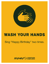 """Wash Your Hands - Sing """"Happy Birthday"""" Two Times"""