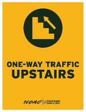 One-Way Traffic Upstairs