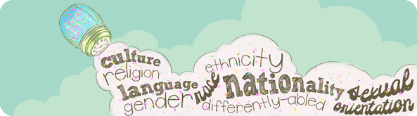 Classroom Spice graphic that reads different words: culture, relgion, language, gender, ethnicity, race, nationality, sexual orientation and differently-abled