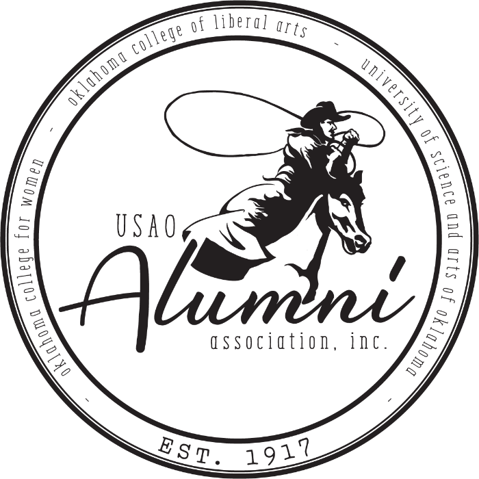 alumni association round logo