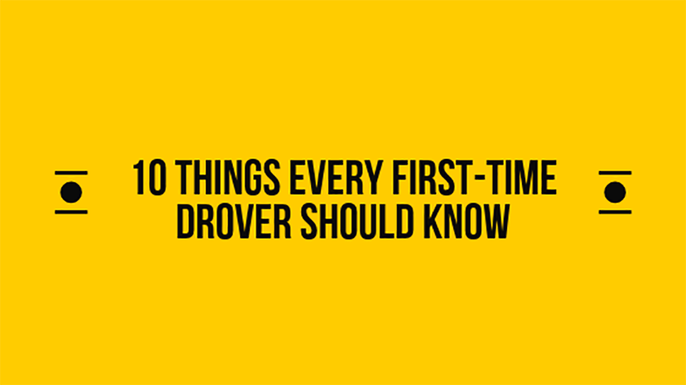 10 things every first-time drover should know