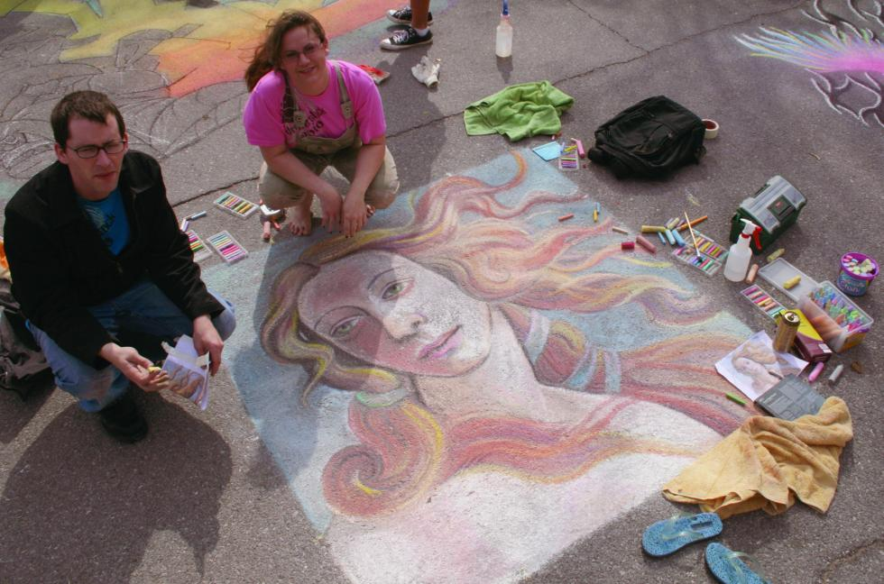 Chalk art festival sends out call to Oklahoma artists