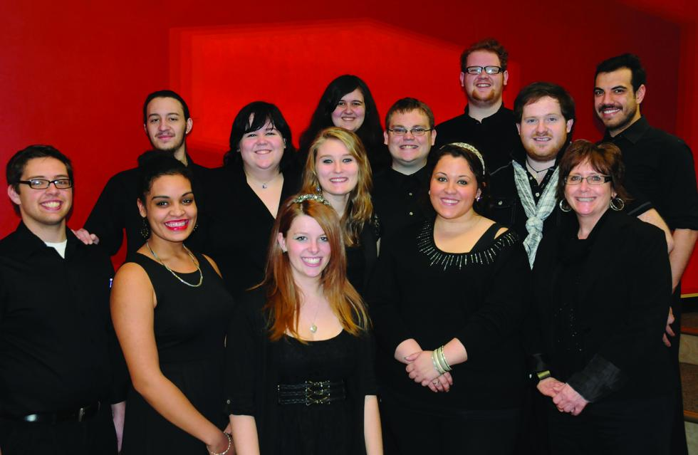 Chamber choir preps for upcoming performances