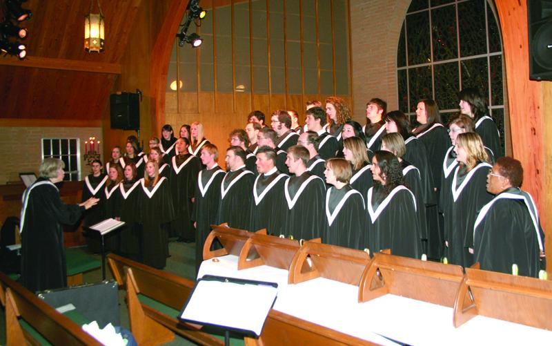 Community Holiday Choral Concert To Be Held at USAO