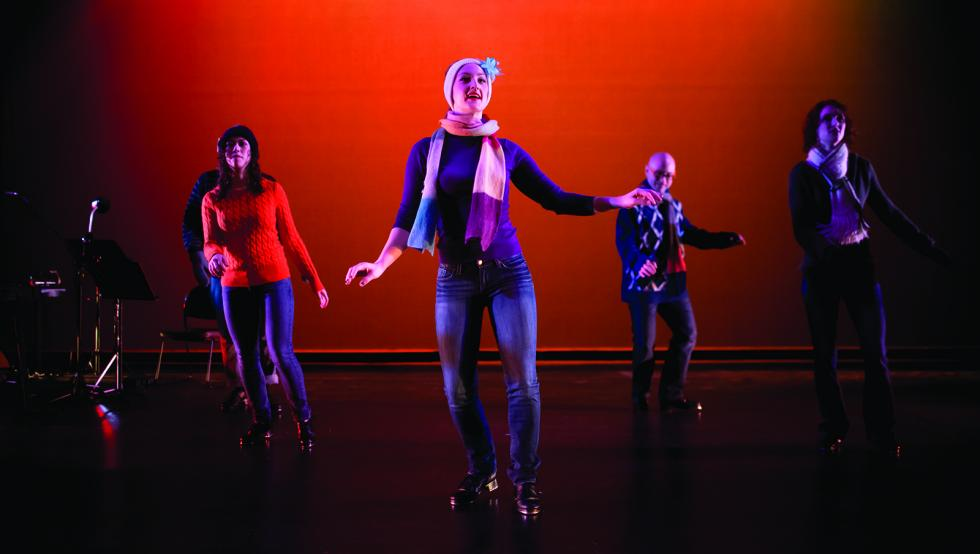Dance company 'on tap' for holiday show