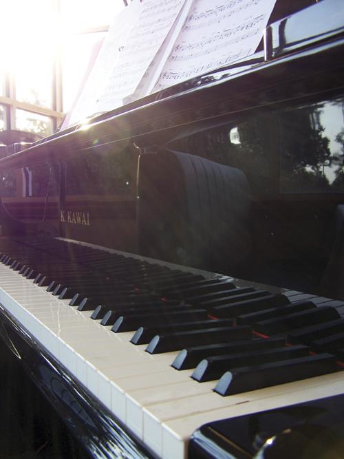 Photo of a piano