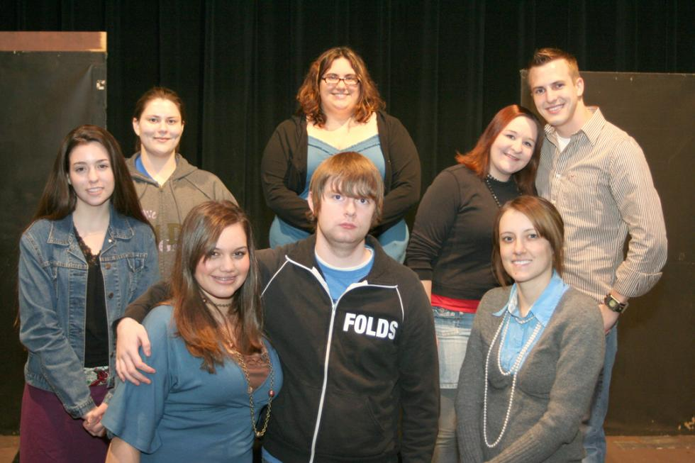 Drama Club Presents Ghostly Readers Theatre at USAO