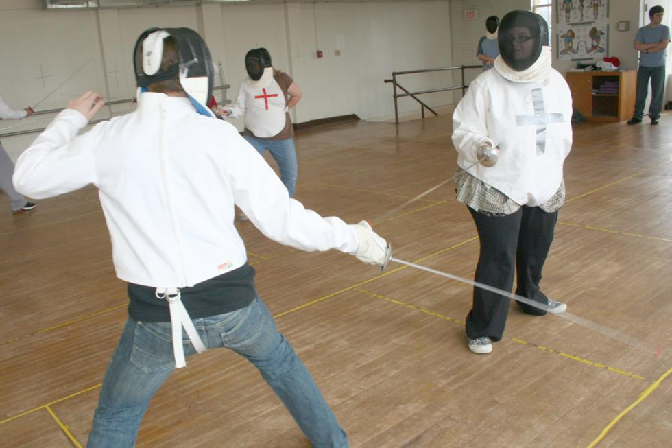 Fencing, Sword Demonstration Open to Public at USAO